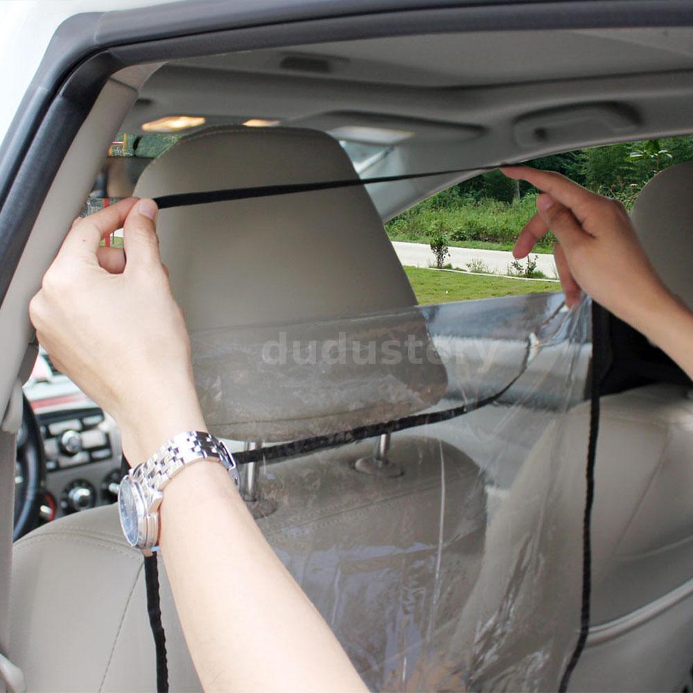 2 asiento trasero coche protector cubrir ni os mat for Asientos ninos coche