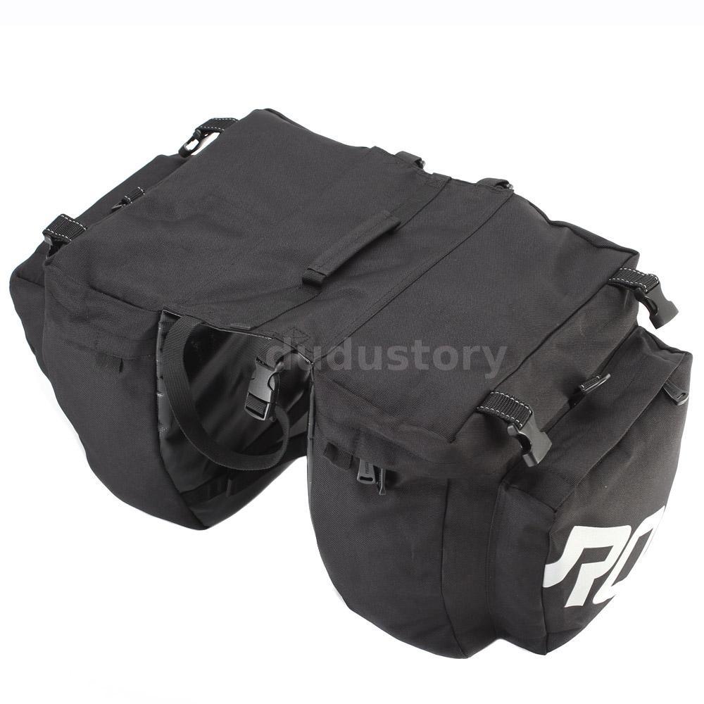 Travel 30L Waterproof Bike Rear Seat 3 in 1 Bag Bicycle ...